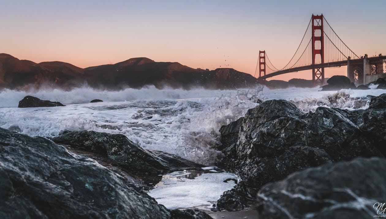 buktområdet, Golden Gate-bron, sf