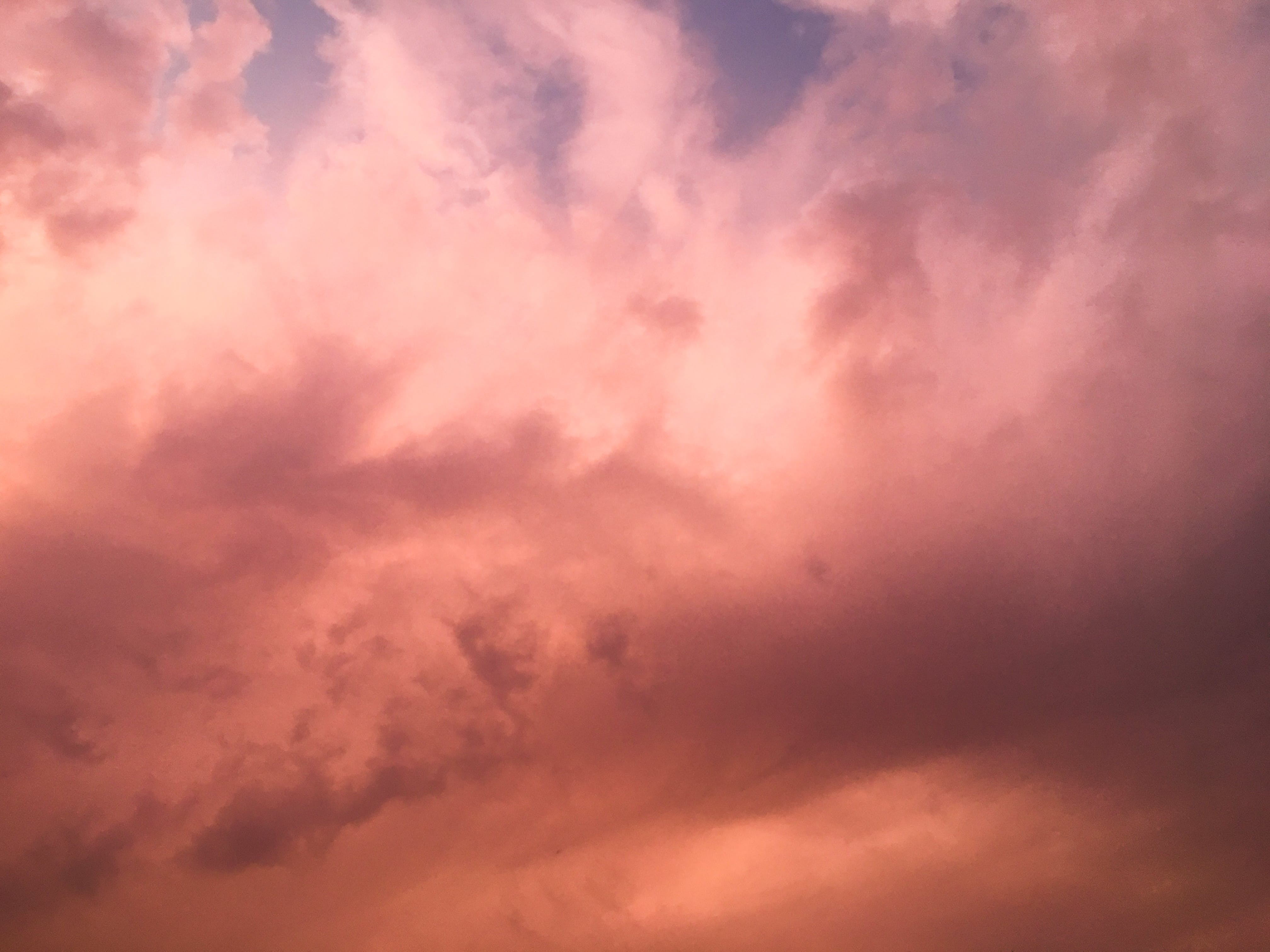 Free stock photo of clouds, sunset