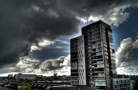 building, high-rise, hdr