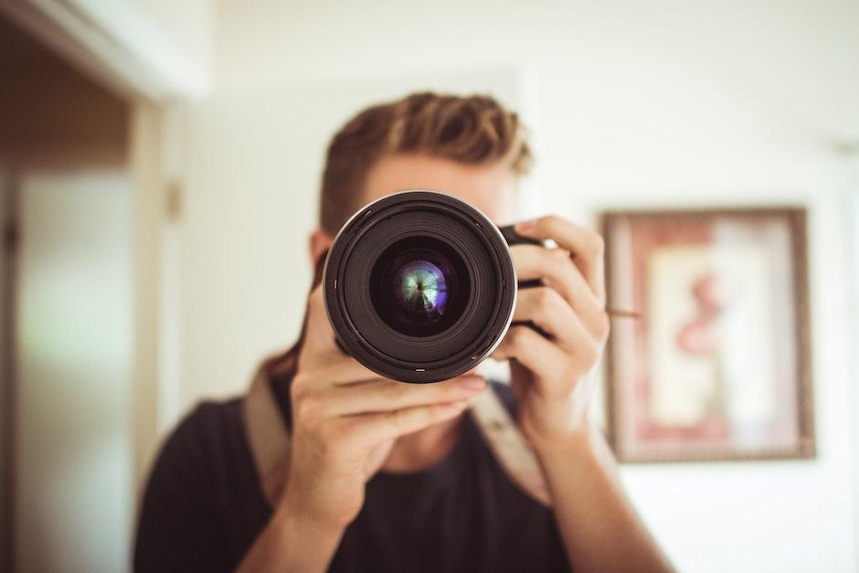 camera, dslr, hobby