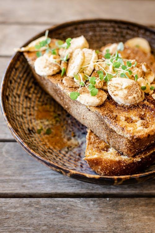 คลังภาพถ่ายฟรี ของ การถ่ายภาพอาหาร, ขนมปังฝรั่งเศส, จัดแต่งทรงผมอาหาร