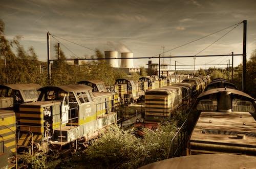 Δωρεάν στοκ φωτογραφιών με trainspotting, urbex, αέρα εξαγωγής, αναμονή