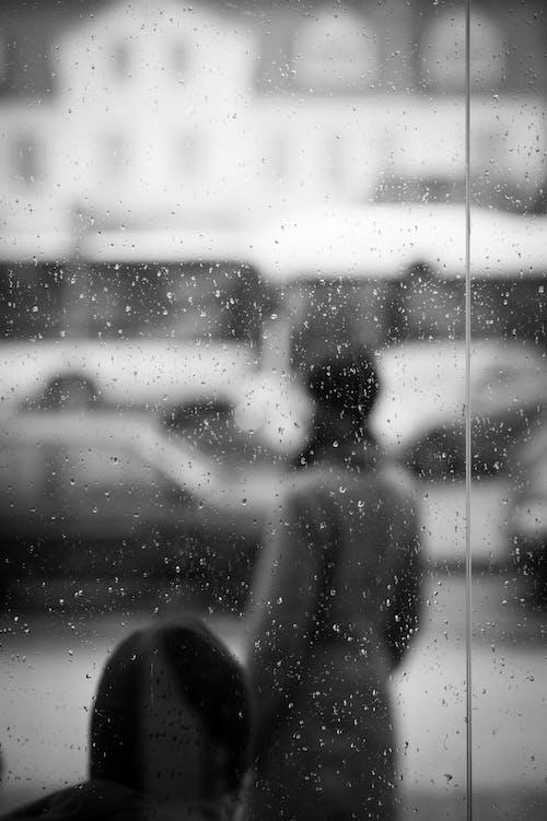 Δωρεάν στοκ φωτογραφιών με justifyyourlove, αυτοκίνητα, βροχή, γυαλί