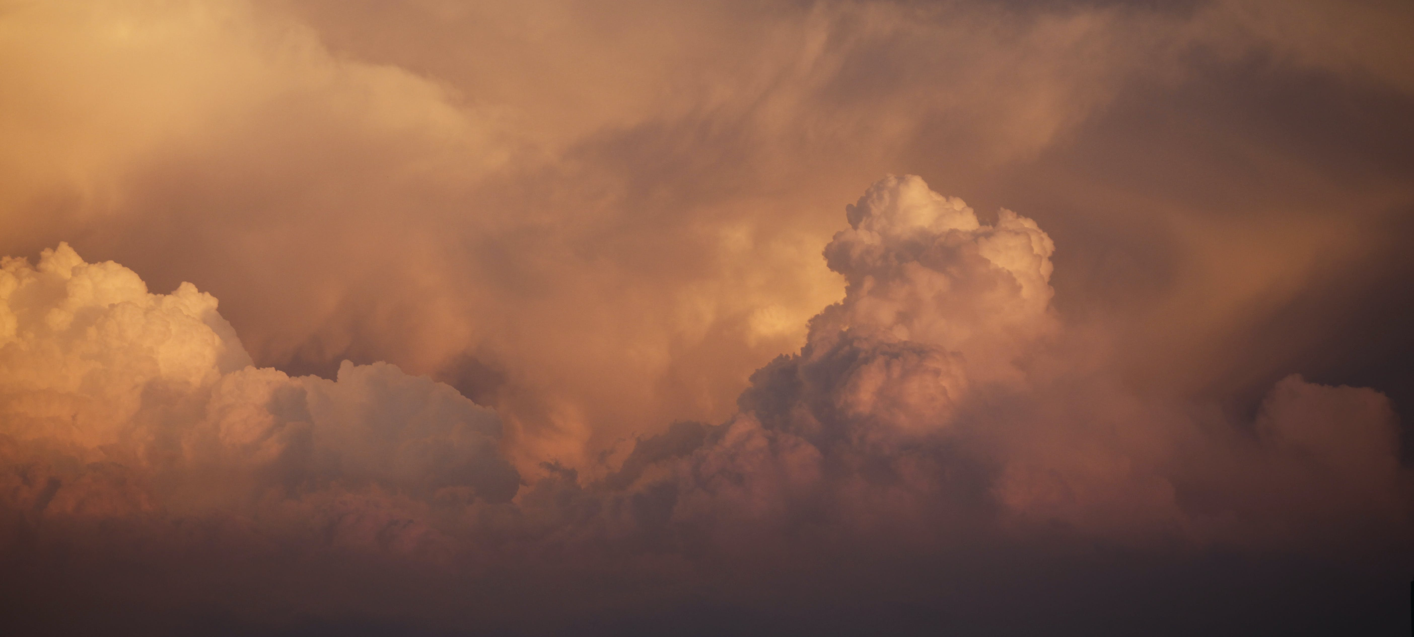 Photography of Cloudscape During Dusk