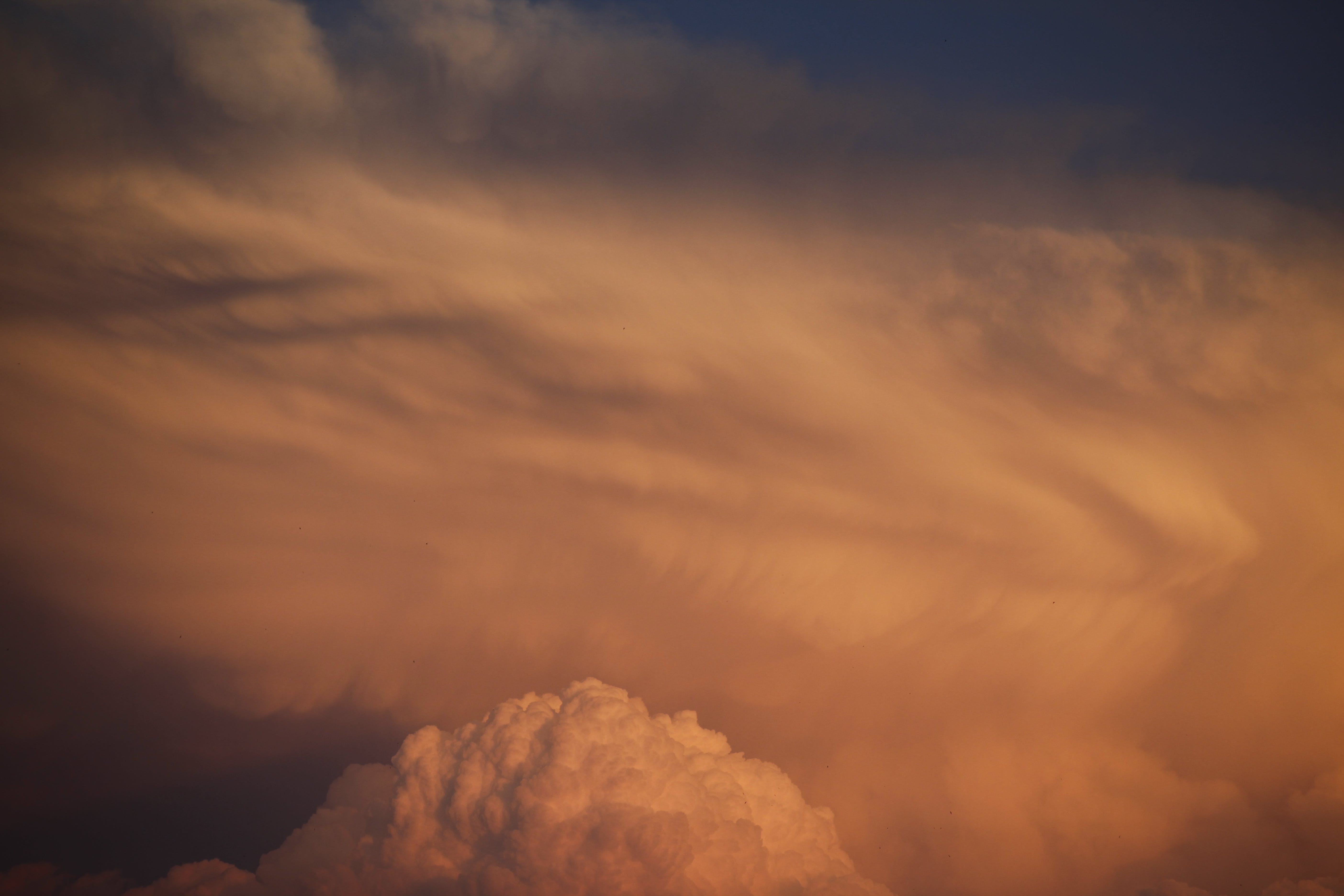 Photography of Clouds During Dusk