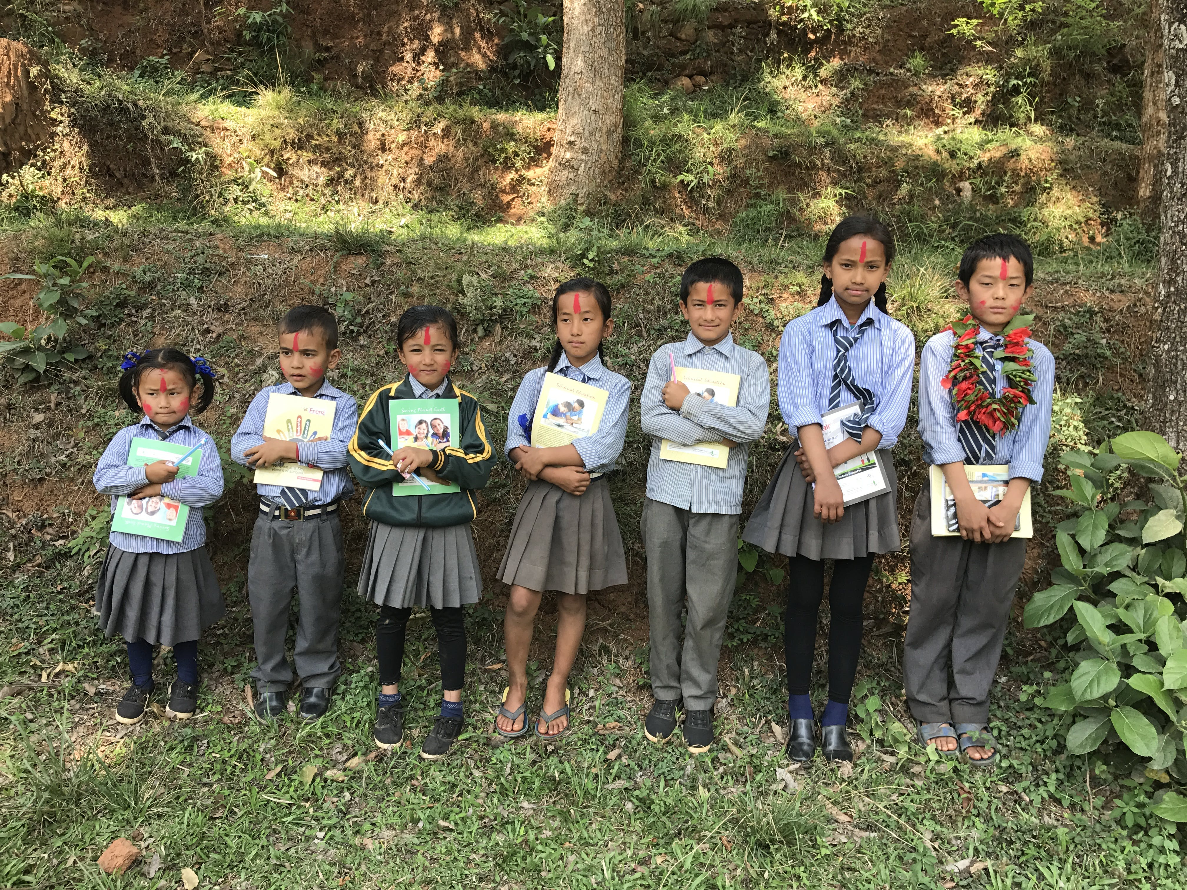 Free stock photo of Annapurna School students