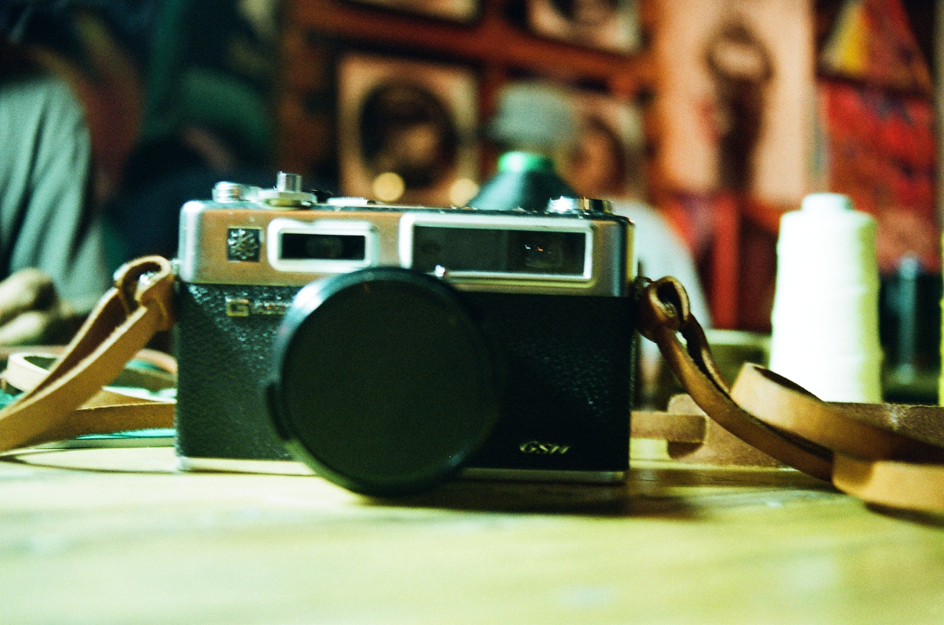 Grey and Black Milc Camera