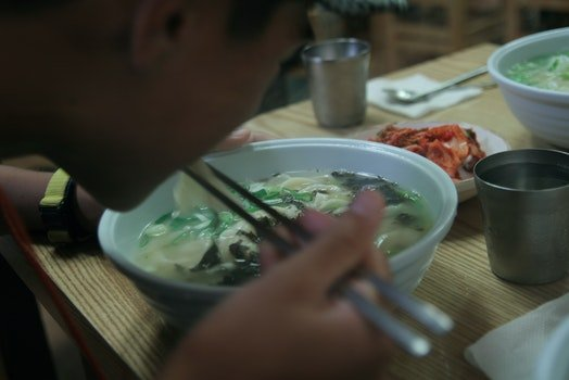 Free stock photo of food, lunch, noodle