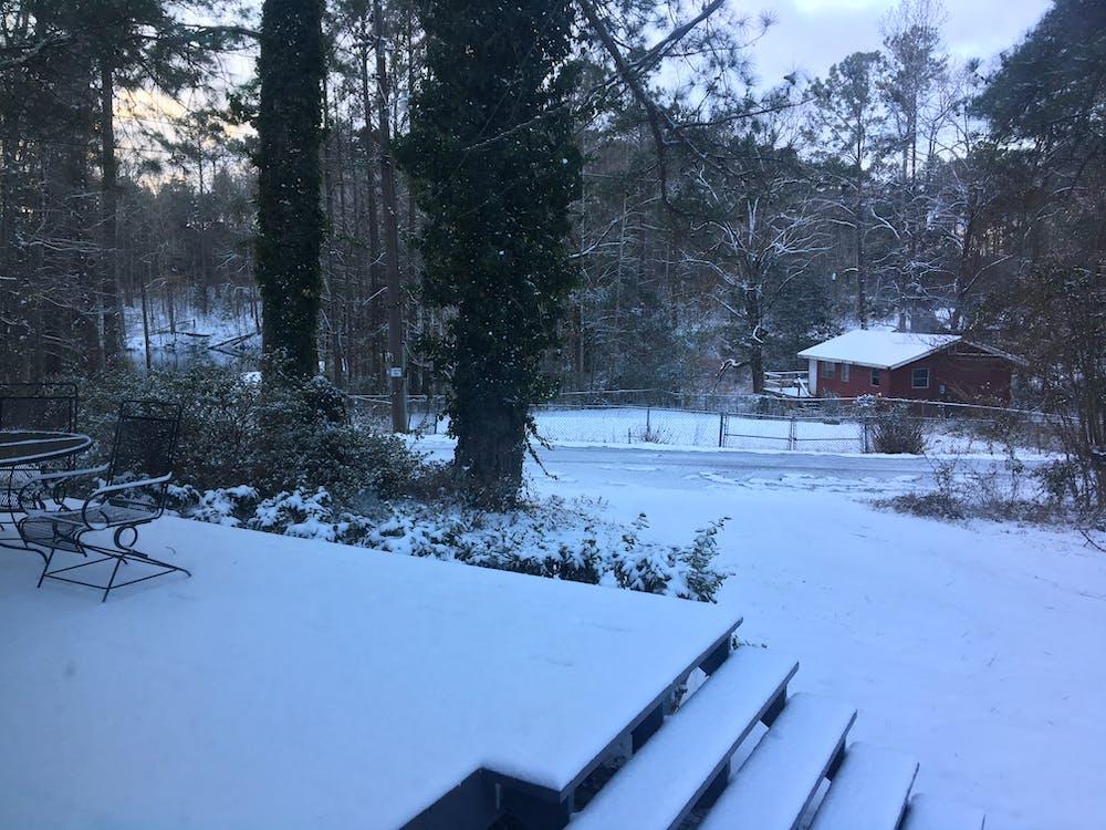 Gratis lagerfoto af landdistrikterne sne