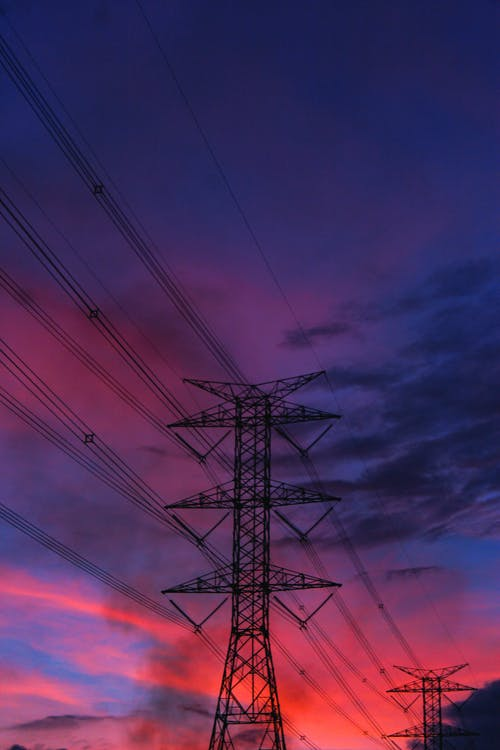 Free stock photo of construction, distribution, electricity
