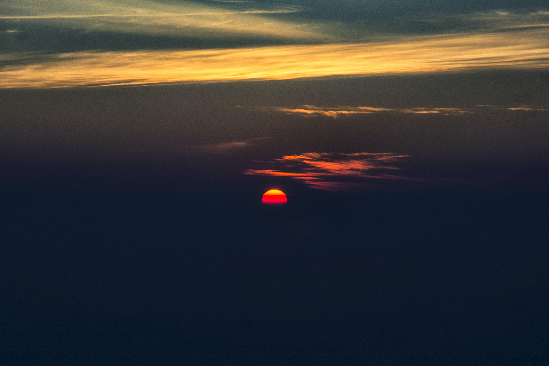 Free stock photo of dawn, hilltop, red sun, Rising Sun