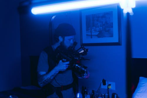 Kostnadsfri bild av bakom kulisserna, belysning, bio