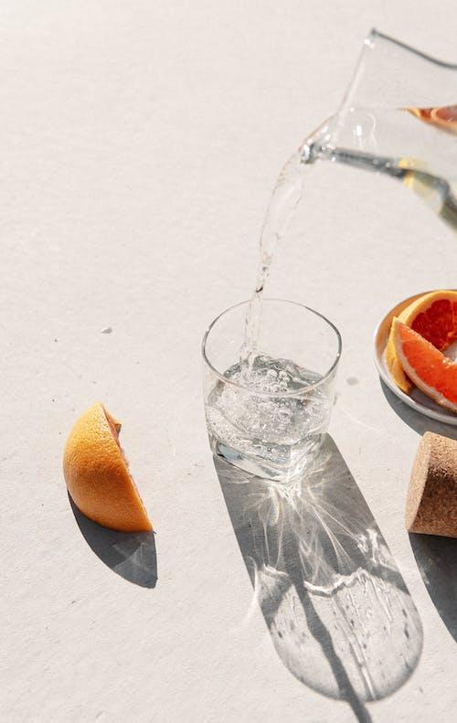 Free stock photo of alcoholic drink, bottle, citrus