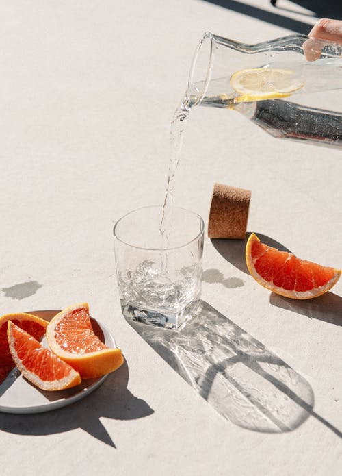 Free stock photo of alcoholic drink, citrus fruit, cold