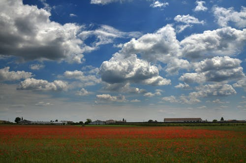 Free stock photo of blue sky, clouds, countryside