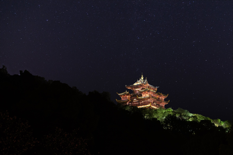 Free stock photo of china, hotel, light and shadow, milky way