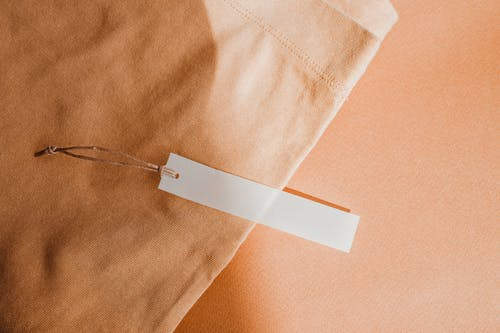 White Paper on Blue Textile