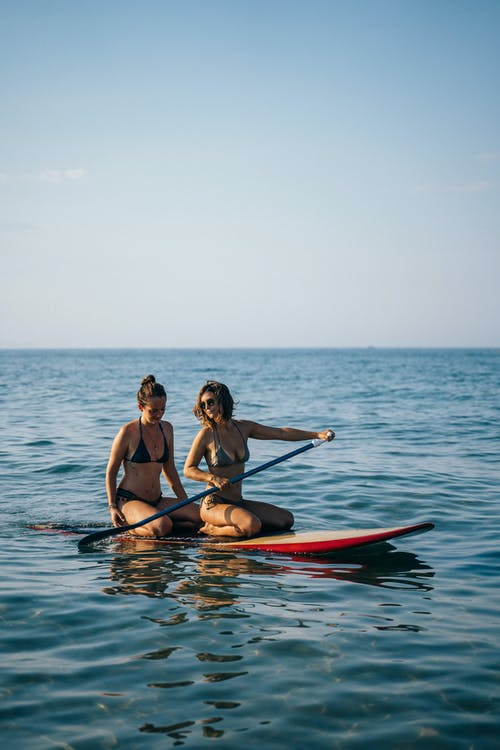 Free stock photo of active, beach, beautiful girls