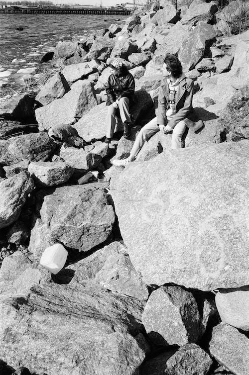 Δωρεάν στοκ φωτογραφιών με rock, ακτή, αναψυχή