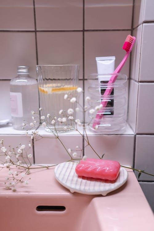 Hygiene Items In Bathroom