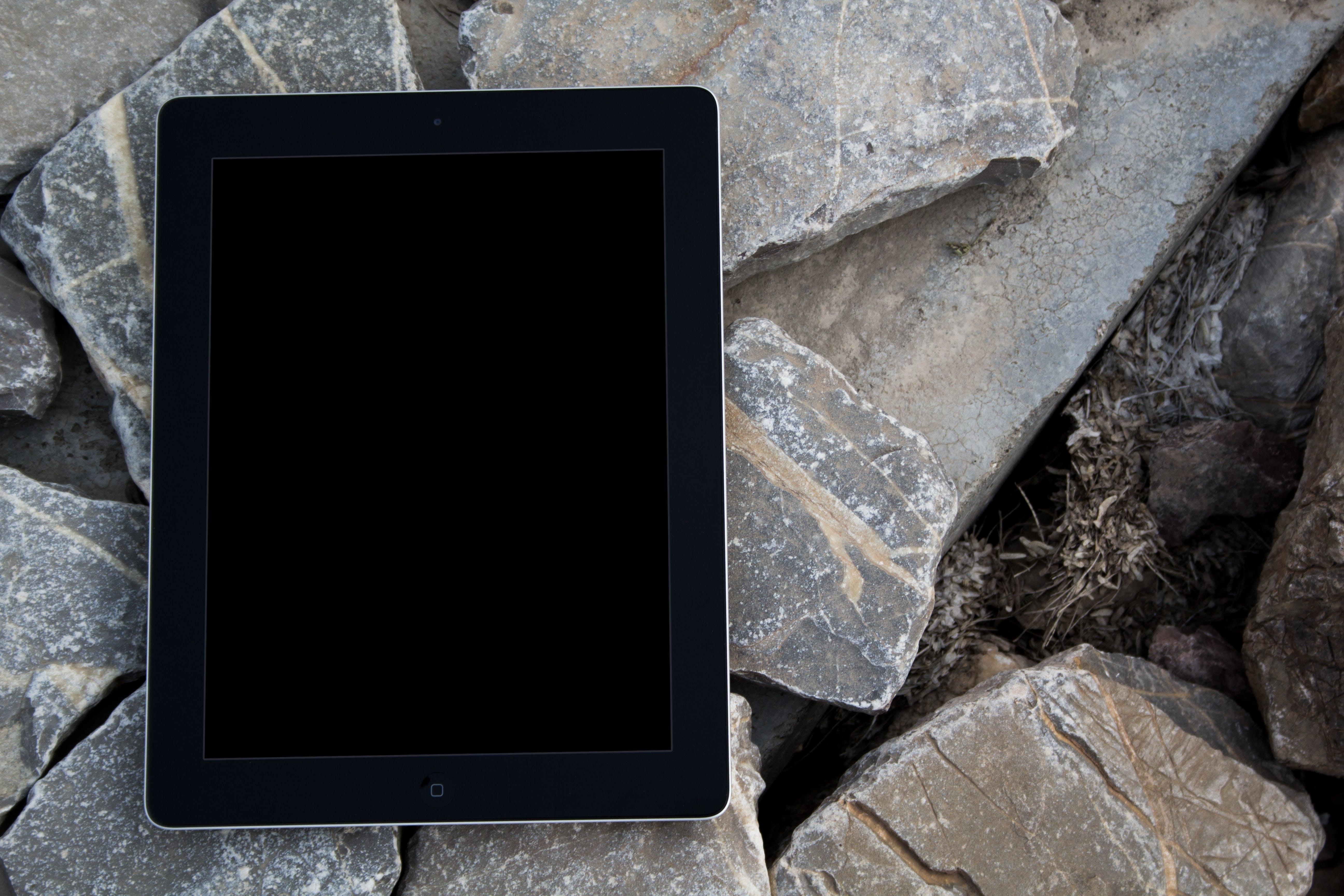 Free stock photo of apple, black, black ipad, closeup