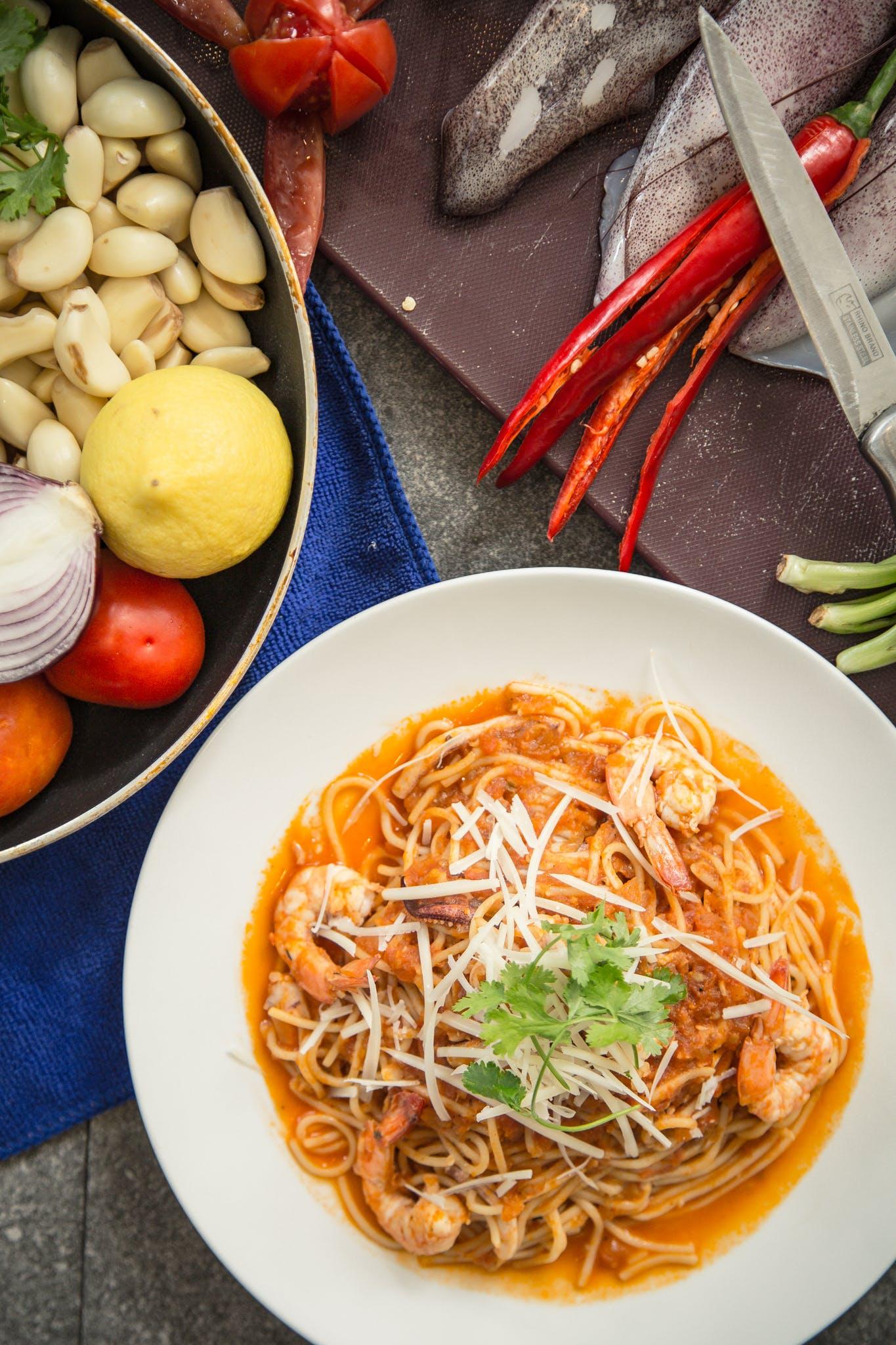 Gratis lagerfoto af frokost, hvidløg, mad, madfotografering