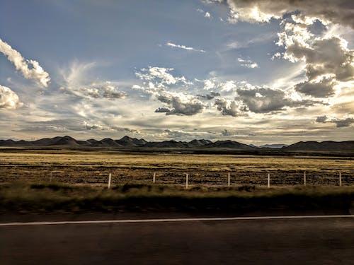 風景のパノラマ写真