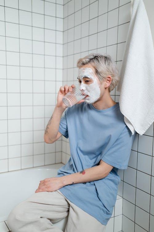 Imagine de stoc gratuită din arată bine, baie, bărbat asiatic