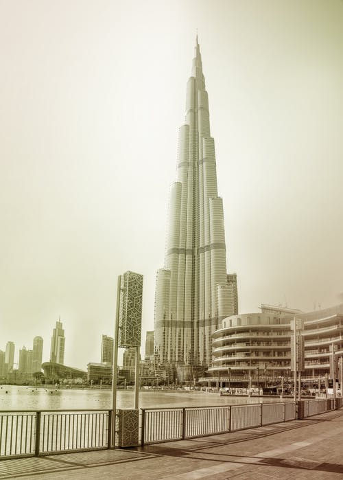 Free stock photo of burj khalifa, dubai, dubai mall, vintage