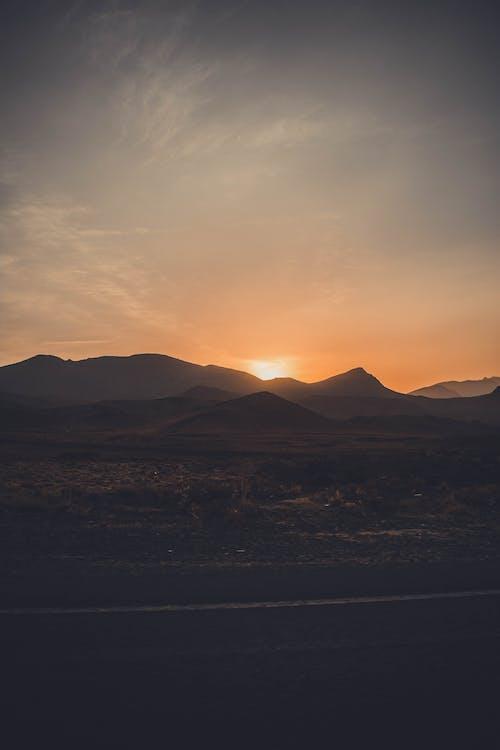 Mountain During Sunset