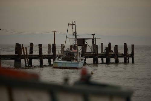 Foto profissional grátis de barco, cais, mar, náutica