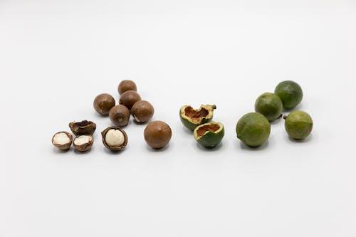 Free stock photo of food, macadamia, macadamia nuts
