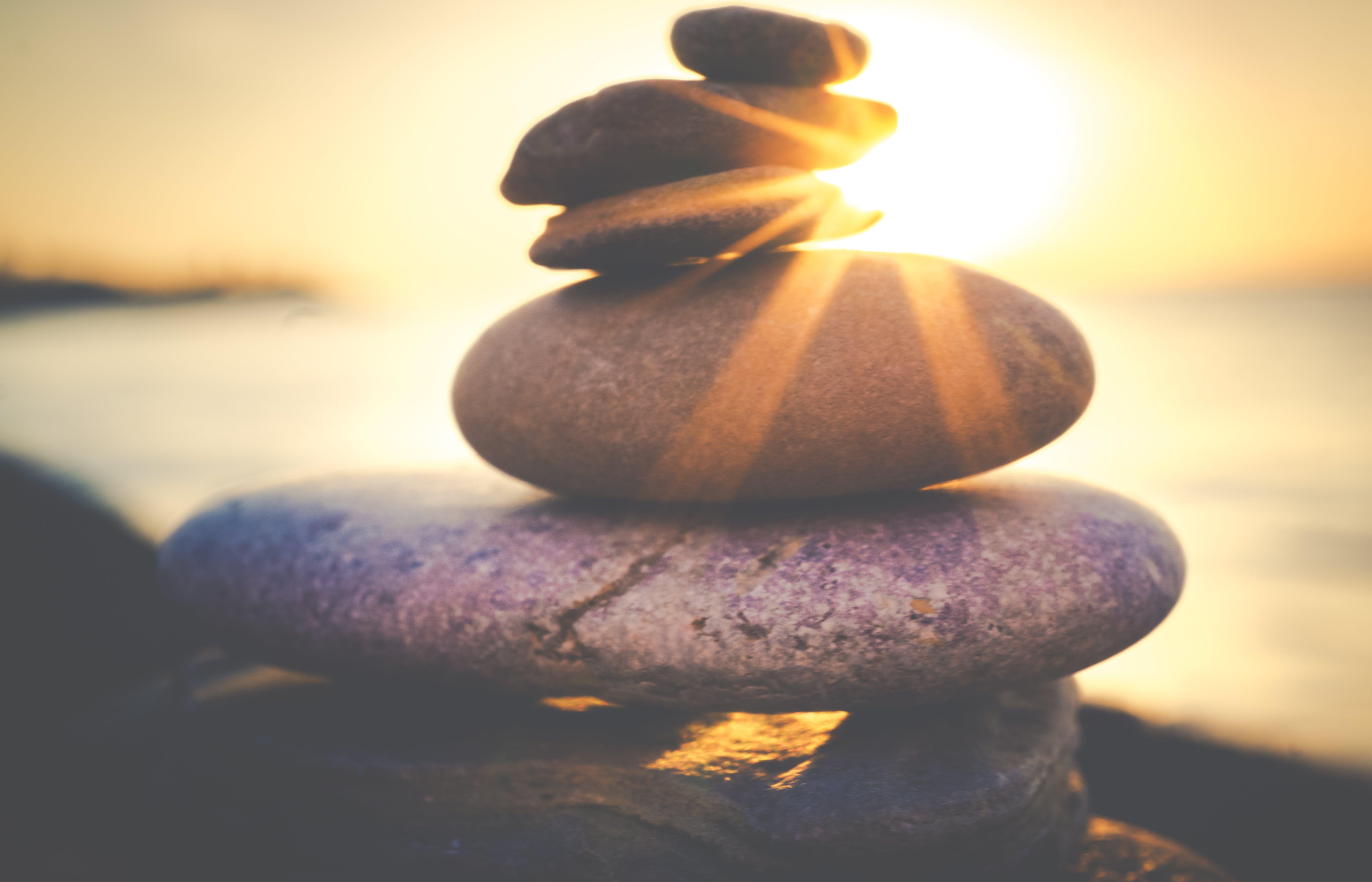 Kostenloses Stock Foto zu meer, natur, sonnenuntergang, strand
