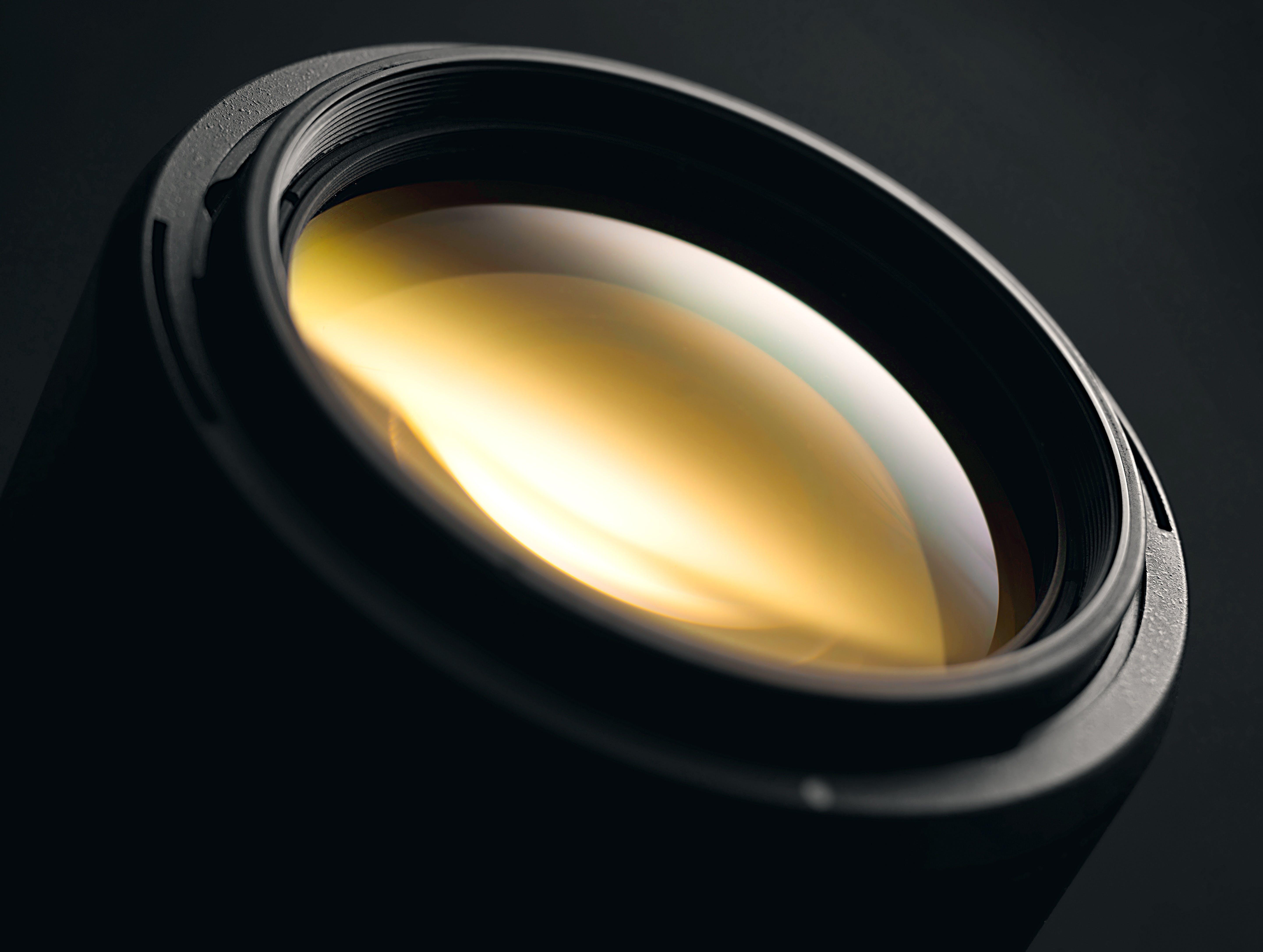 Photo of Black Camera Lens