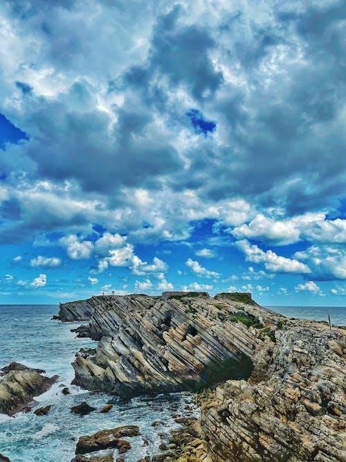 Free stock photo of beautiful sky, big rocks, bluesky