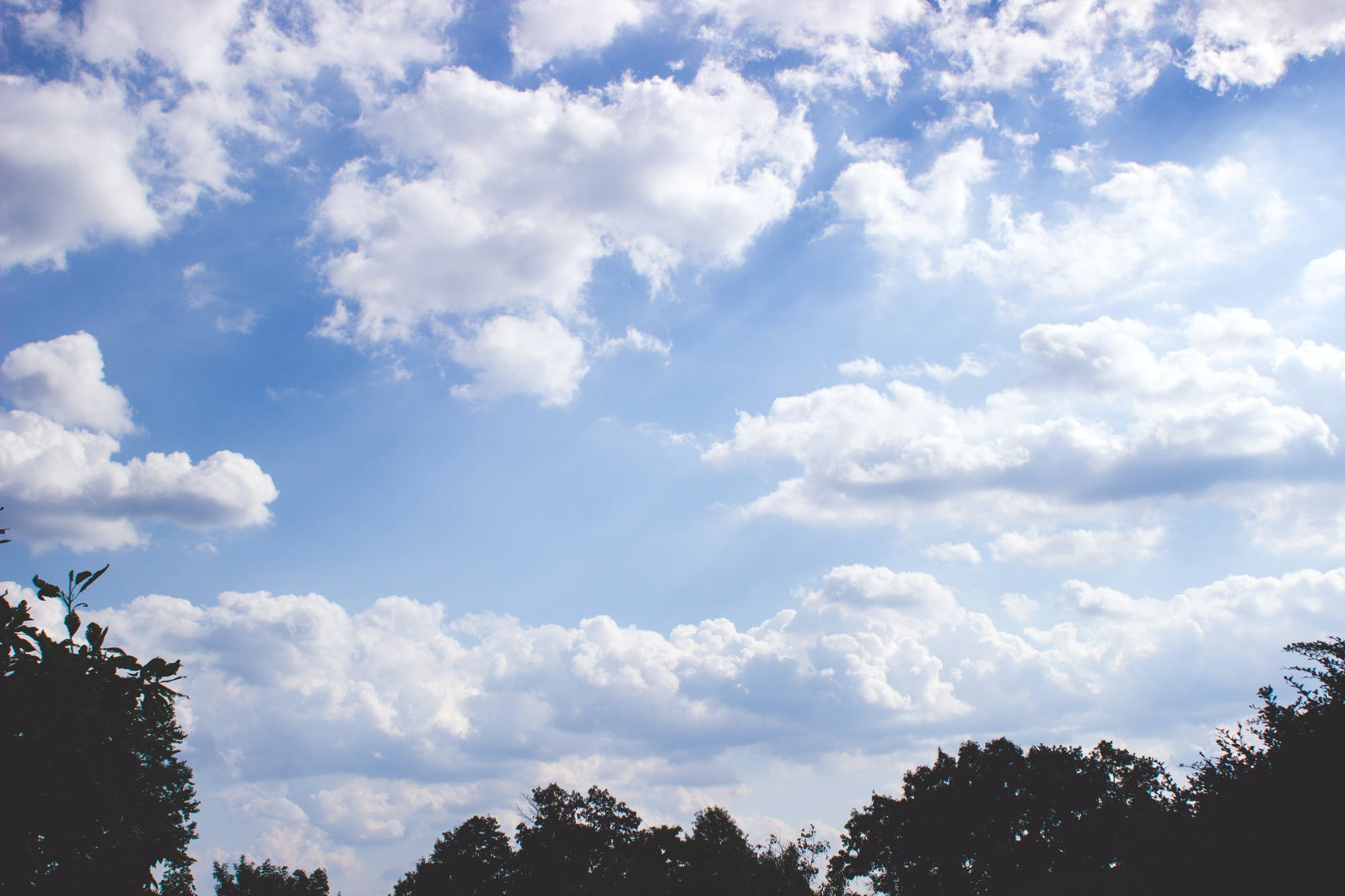 Free stock photo of sky, clouds, blue, summer
