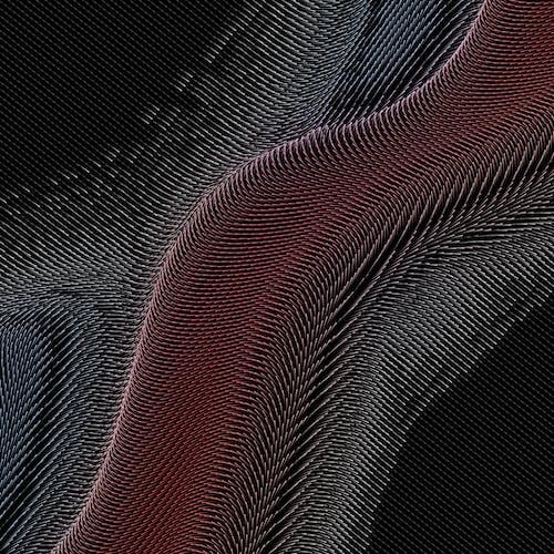Red and Black Illustration