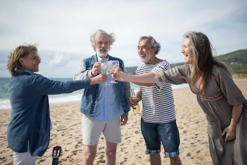 Ảnh lưu trữ miễn phí về bờ biển, hạnh phúc, hữu nghị
