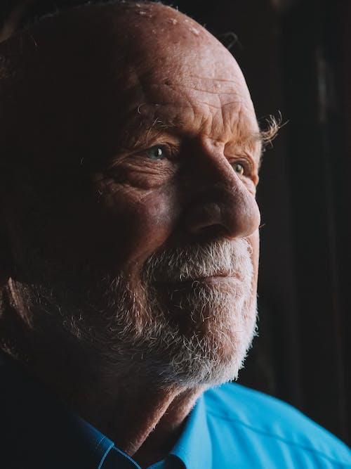 Immagine gratuita di anziano, barba, faccia