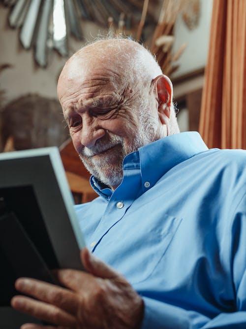 Immagine gratuita di anziano, barba, cornice