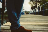 jetty, feet, shoes