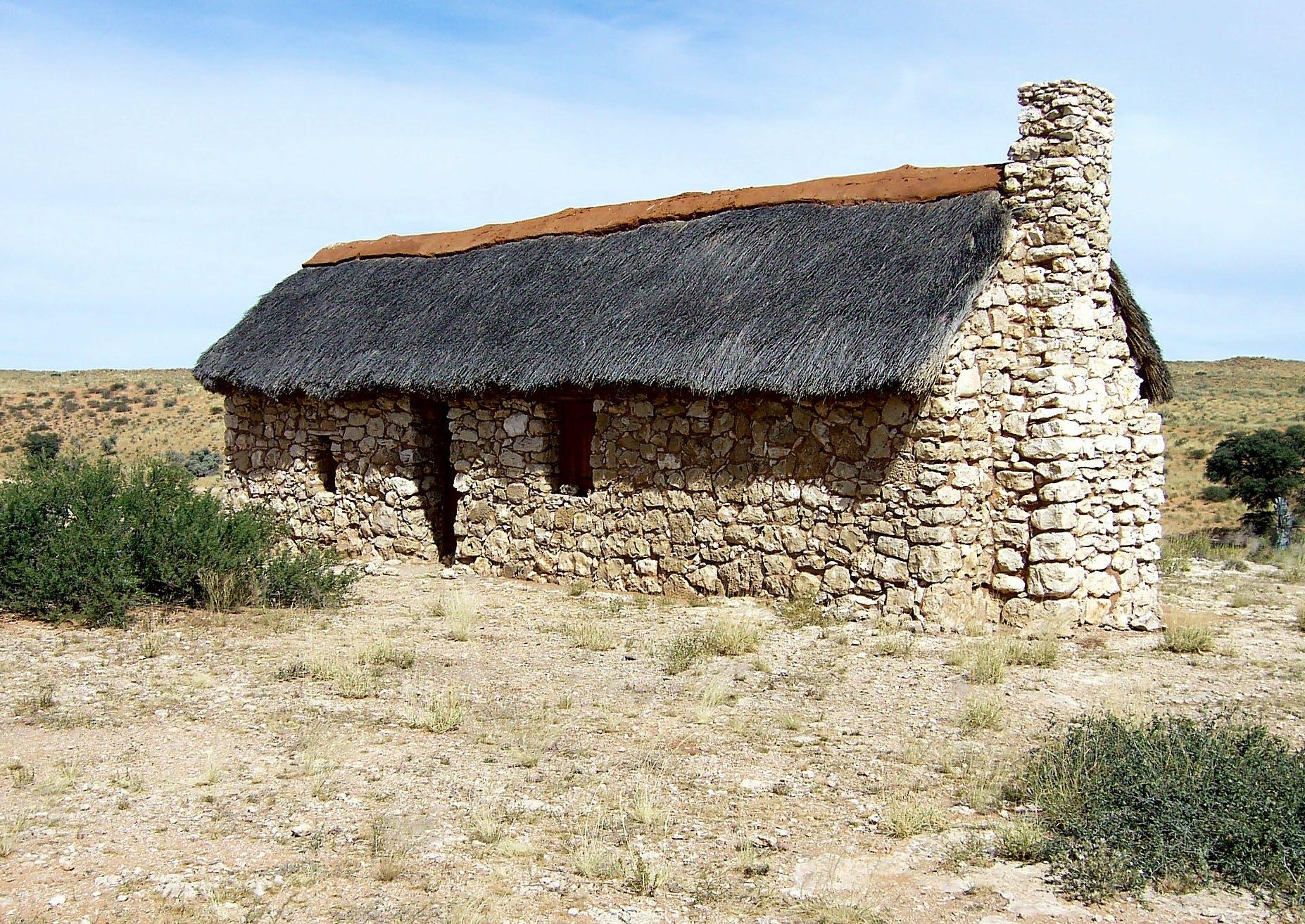 Free stock photo of farmer's cottage, historical, kalahari, stone dwelling