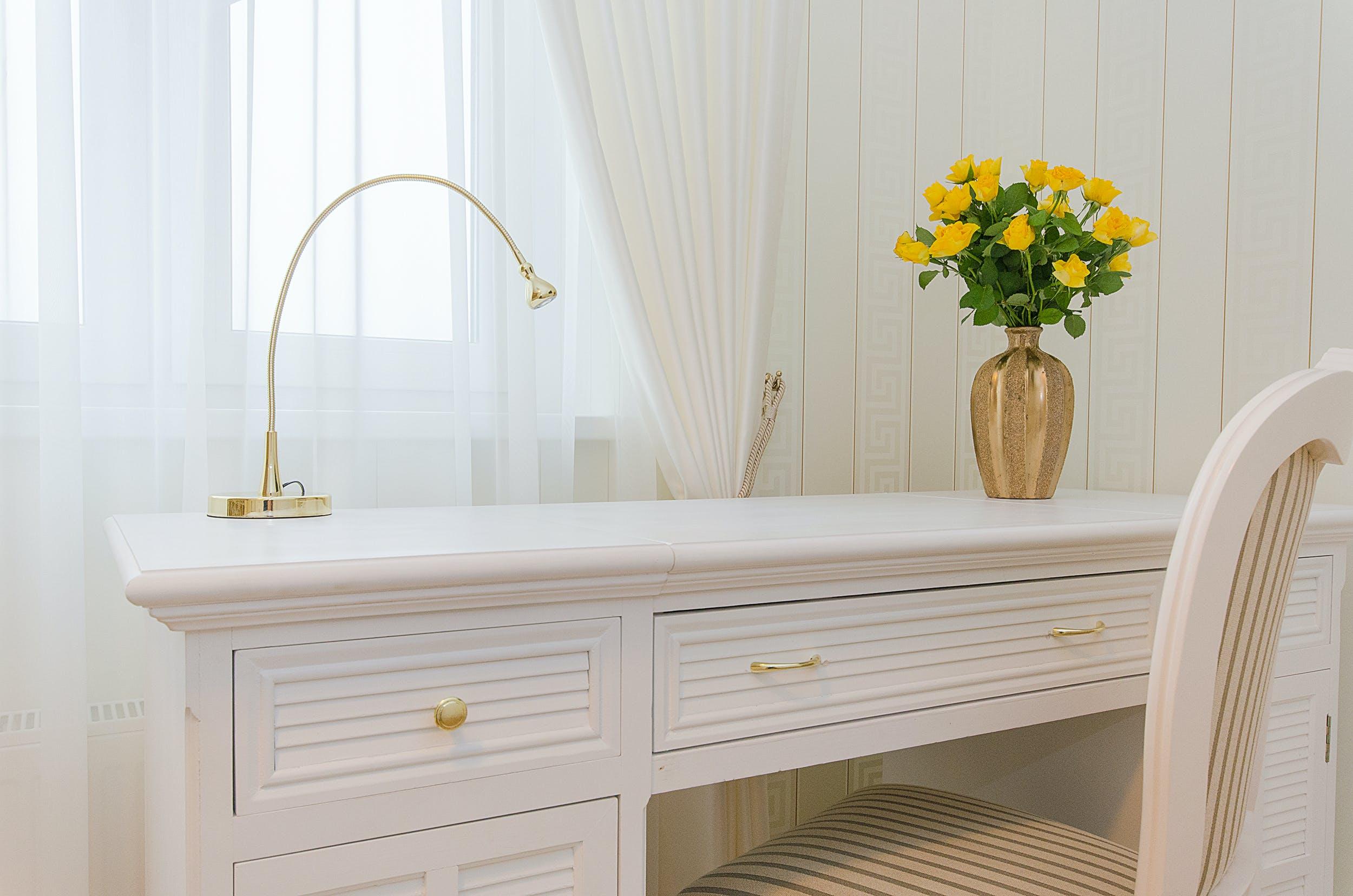 White Wooden Desk