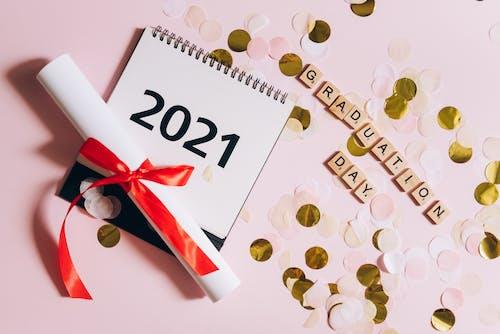 Ilmainen kuvapankkikuva tunnisteilla 2021, flatlay, käsitteellinen