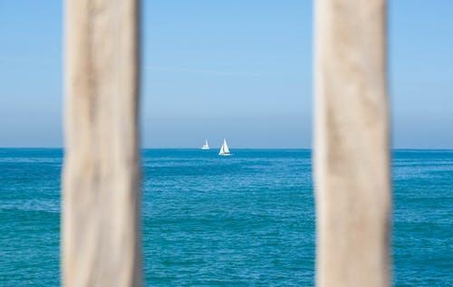 ahşap, dalgalar, deniz, deniz manzarası içeren Ücretsiz stok fotoğraf