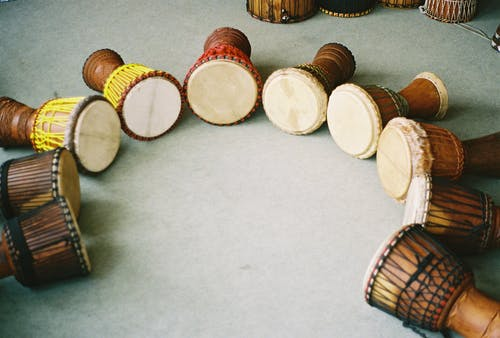 Free stock photo of africa, african, african drum, djembes