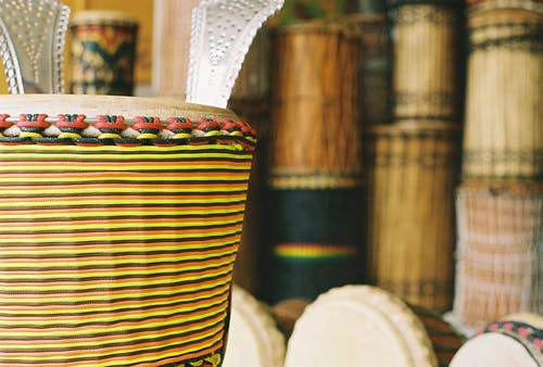 Free stock photo of africa, african, african drum, djembe