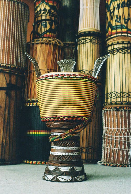 Free stock photo of african drum, african drums, djembe, djembefola