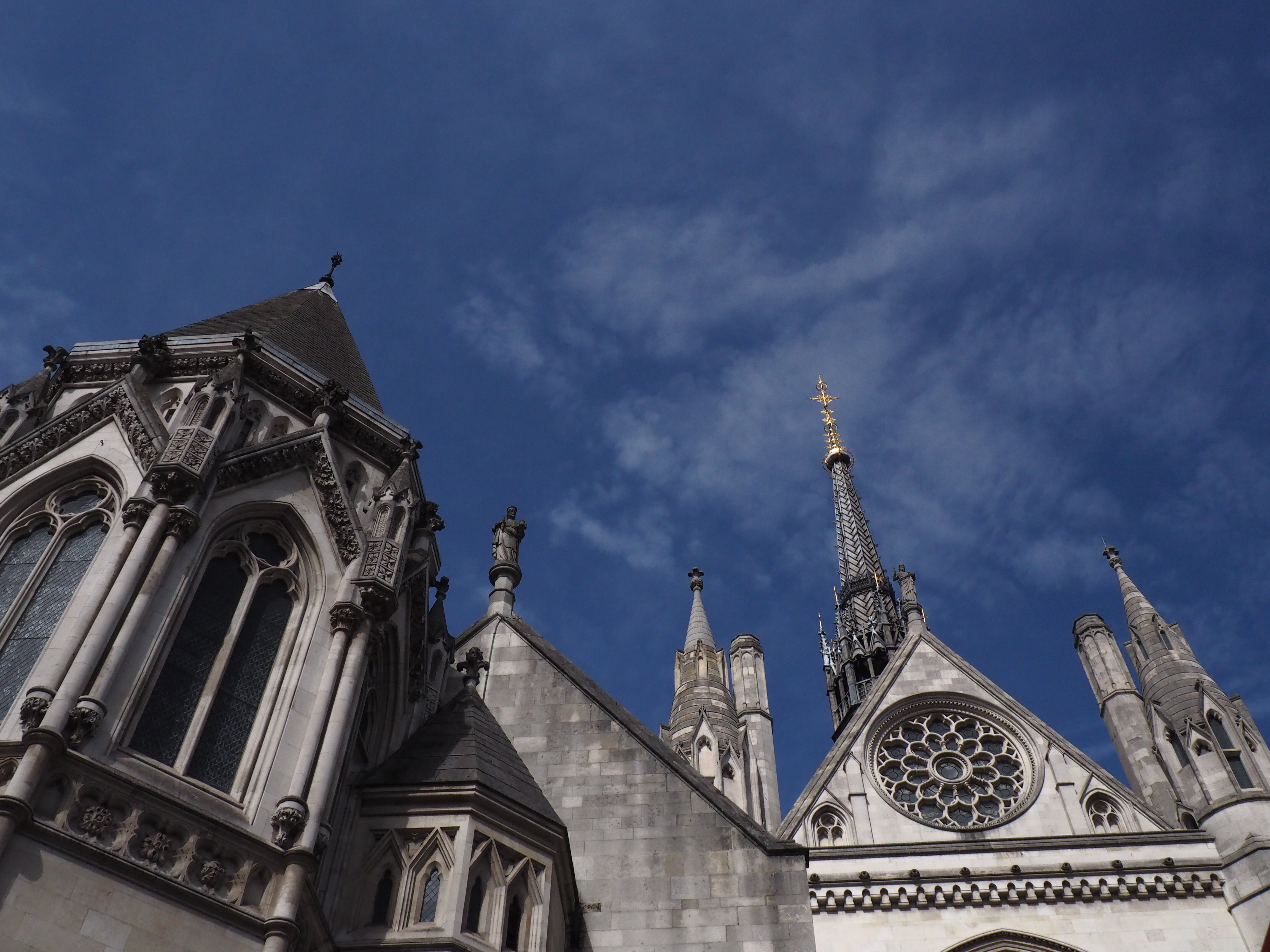 Free stock photo of architectural design, architecture, blue sky, cathedral
