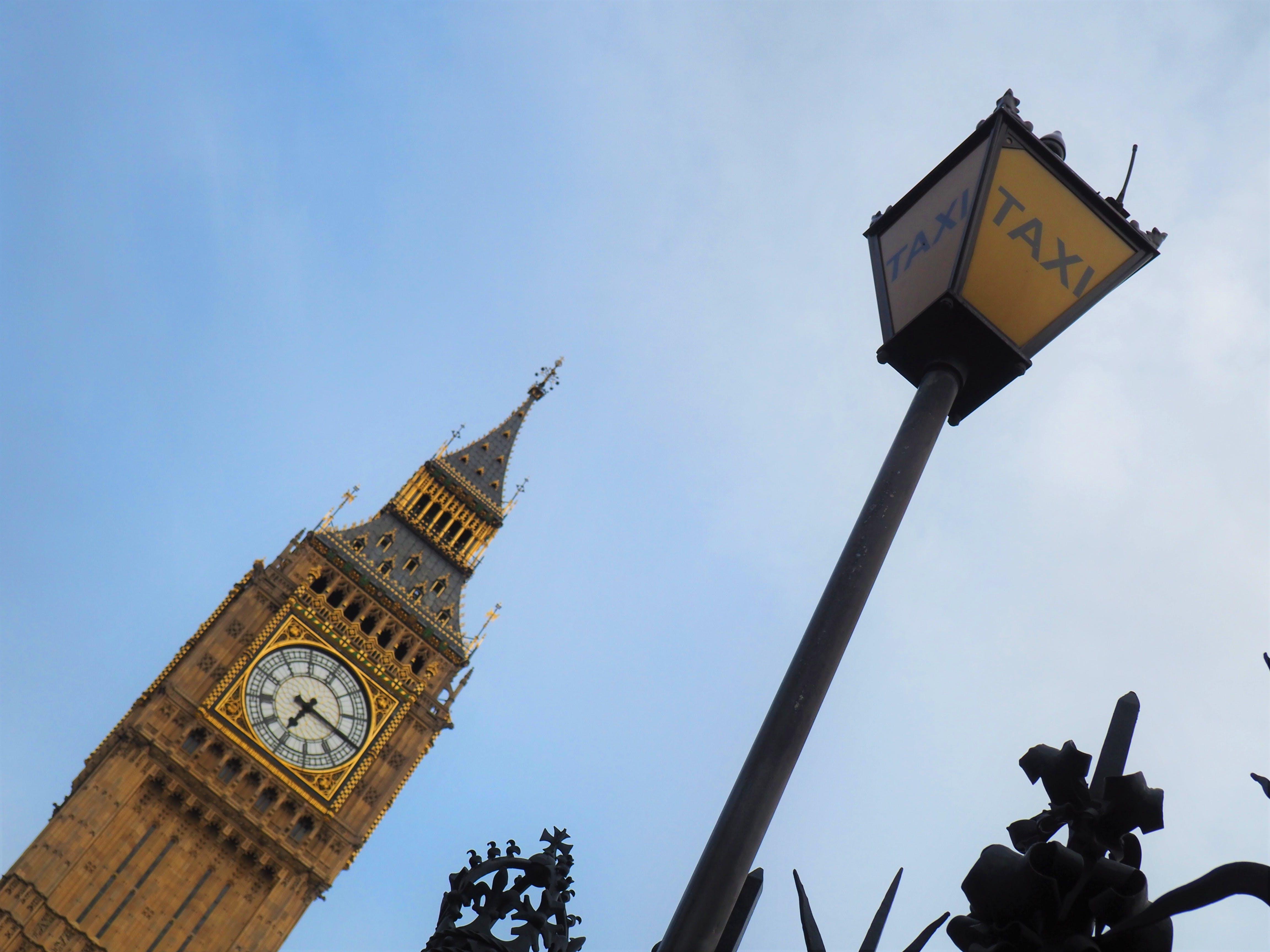 Free stock photo of big ben, clock tower, england, great britain